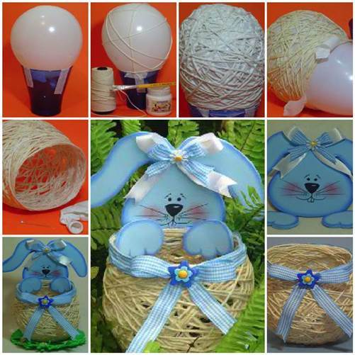 DIY-Yarn-String-Easter-Basket-3