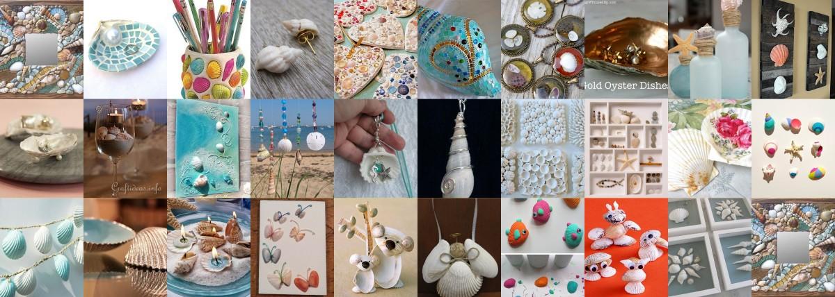 Nyári emlékeink - kagylós DIY ötletek