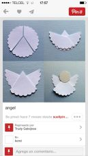 papír angyal 2