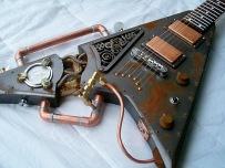 steampunk-guitar