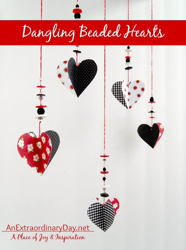 Easy-DIY-Dangling-Beaded-Hearts-AnExtraordinaryDay.net_