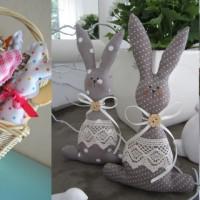 Húsvéti nyuszi varrása